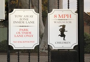 custom metal safety signs