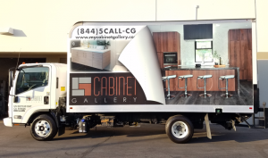 full vinyl commercial trailer wrap