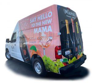 Long Beach Vehicle Wraps & Graphics MISA RearDRIVER client 300x272